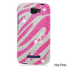 Alcatel OneTouch Fierce 2/7040T Cs Diamond Hot Zebra 302 TPU/PC Phone Case