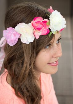 Bijou Brigitte flower crown