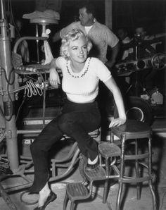 Marilyn  in 1954.