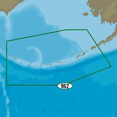 C-MAP MAX-N+ NA-Y962 - Unimak Pass to Attu Island
