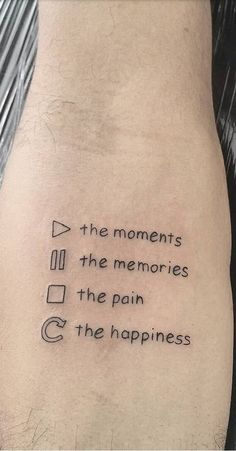 The 120 Best Written Tattoos to Get Inspired!