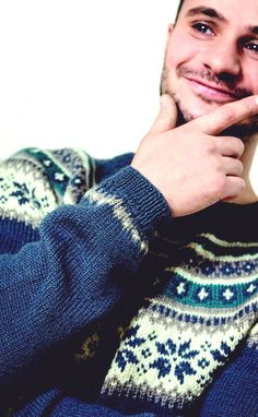 EP_1601_Jakke&Genser_5 - Rundfelt genser Rings For Men, Accessories, Fashion, Moda, Men Rings, La Mode, Fasion, Fashion Models, Trendy Fashion