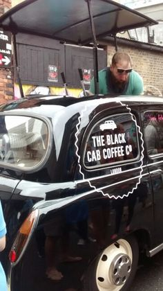 The Black Cab Coffee Co, Brick Lane London