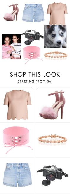 """kkp"" by nastya-anas-mikheeva on Polyvore featuring мода, Valentino, Bling Jewelry, GRLFRND и Pentax"