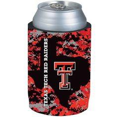 Texas Tech Red Raiders Digi Camo Can Cooler