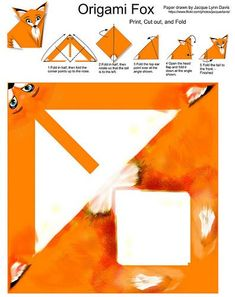 How To Make Origami Fox How To Fold A Very Easy Origami Fox. How To Make Origami Fox Step Step Instructions How Make Origami Talkative Fox Stock Vecto. Origami Paper Folding, Kids Origami, Origami Fish, How To Make Origami, Useful Origami, Paper Crafts Origami, Origami Art, Easy Origami, Origami Sailboat