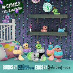 Burds & Eggs - @ The Ozimals Easter Egg Hunt! | Flickr - Photo Sharing!
