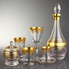 62 PEÇAS CONJUNTO DE COPOS DE VIDRO - Ottoman Gold - Produtos Importados da Turquia - Loja VirtualProdutos Importados da Turquia – Loja Virtual