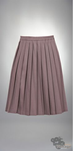 Vintage 70´s Midi Autumn Gray Skirt Size S-M - Bichovintage - Vintage & Retro & Recycled - Clothing and Accesories - Online Store
