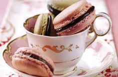 Pink macaroons with chocolate filling recipe - Recipes - goodtoknow