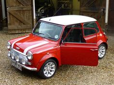 Classic Mini Cooper. Vintage Mini Cooper. Classic car. British. Old mini.
