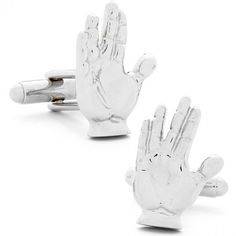 Live Long and Prosper Cufflinks $60