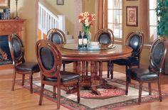 Round Dining Room Sets | round dining room furniture set dining room furniture classic ...