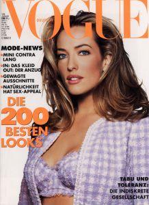 Tatjana Patitz Vogue Deutsch January 1994