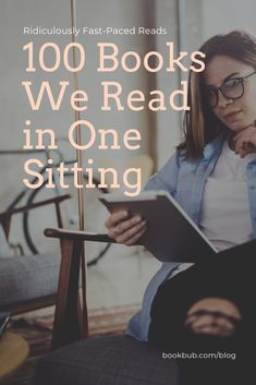 Looking for some quick reads? Check out this list of 100 books you can read in one sitting. Reading Lists, Book Lists, Book Club Books, My Books, 100 Books To Read, Quick Reads, Book People, Thriller Books, Cool Books