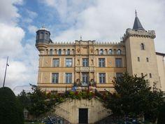 Saint Symphorien, Rhone, Facade, Louvre, Mansions, House Styles, Building, Travel, Alps