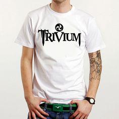 Trivium Custom White Tee T-Shirt