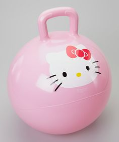 Hello Kitty Hopper [15'' diameter] Phthalate-Free Vinyl. Weight Capacity 100 lbs. Ages 4 & up $10.49