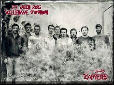 AFRO SOCIAL CLUB sera au Festival Les Z'Arpètes le samedi 27 juin 2015 sur la Plaine de Couuréjean (Villenave d'Ornon - 33)