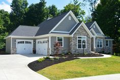 European Style House Plan - 3 Beds 2.50 Baths 2449 Sq/Ft Plan #20-2128 Exterior - Front Elevation - Houseplans.com