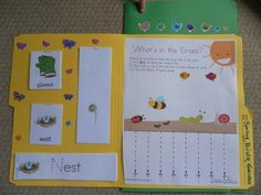 Springtime Lapbook Folder 1