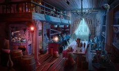 #art #gameart #interior #gamedev #gamedevelopmentart #madheadgames #gaming #games #game  #diningroom #cottage