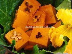 Cocina Costarricense: flan de ayote