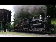 Geared Shay Steam Locomotives