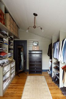 Historic House - farmhouse - closet - austin - by Tim Cuppett Architects