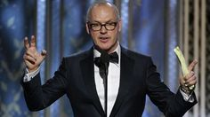 Michael Keaton gana con 'Birdman' en los Globos de Oro