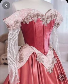 don't think I ever properly showed you guys this Aurora dress! I want to make a new one soon in blue or splattered pink and blue! Disney Princess Dresses, Disney Dresses, Princess Aurora Dress, Pretty Outfits, Pretty Dresses, Ball Dresses, Ball Gowns, Prom Dresses, Sleeping Beauty Dress
