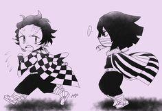 Demon Hunter, Slayer Anime, Chibi, Otaku, Fan Art, Twitter, Phone Backgrounds, Cute Anime Guys, Anime Girls