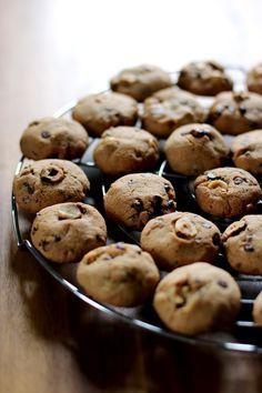 Cookies sans gluten, chocolat, noisette et châtaigne - Glutenfree cookies (chocolate, hazelnut, chestnut)