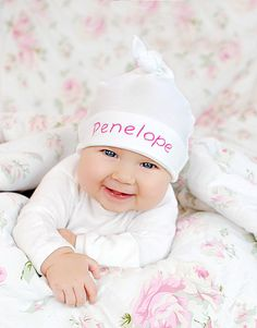 Custom Embroidered Hat Personalized for Baby Boys by tinySunshine, $10.00