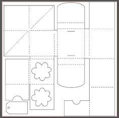 My shiny studio: Minialbum with Sihouette - Hip Kit Club