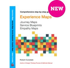 Experience Maps, Journey Maps, Service Blueprints, Empathy Maps 400 pages