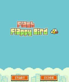 Famoso juego de Flappy Bird en flash, donde tienes que hacer que este pájaro llegue al final