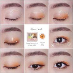 ออกไอเดียแต่งตาสวยๆ เจิดๆ แบบมือใหม่ ทำให้สวยยิ่งกว่ามือโปร จาก IG : hera_secret รูปที่ 18