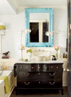 Carrelage design l inspiration g om trique pour la salle for Decormag salle de bain