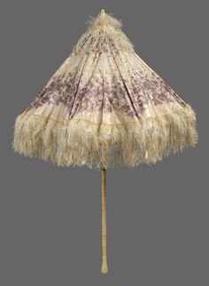 Parasol ca. 1840-1865 via The Museum of Fine Arts, Boston