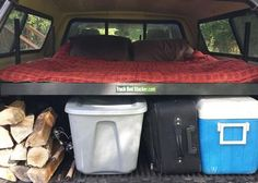 Every tuck bed cap owner should have a Truck Bed Stacker as a truck accessory. Organize all your outdoor gear keeping it clean and dry. Sleep on it. Check out the video's