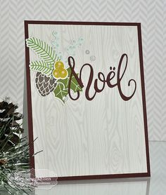 Joyful Creations with Kim: TE Sneak Peek Day 2: Woodgrain and Holiday Florals. All products are available 10/6/16.