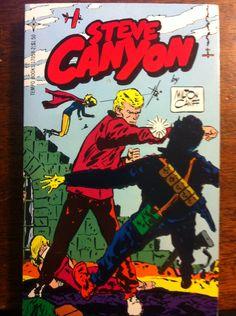 Steve Canyon (1979) - Paperback reprint of 1978 comic strip story.