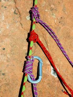 4 Friction Knots for Climbers Knots for Ascending Ropes and Self-Rescue