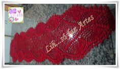 caminho de mesa 2 fios em croche  http://inovartartesanatosemeva.blogspot.com.br
