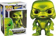 Universal Monsters POP! Vinyl Figur Der Schrecken vom Amazonas Metallic Version 9 cm