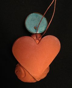 Handgemachte Keramik Engel Ornament Contemporary von Potterybydaina