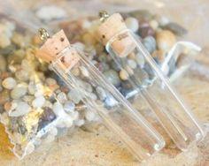 Crafty Keepsake How-to: Make a Glass Vial Treasure Bottle Necklace- Already got the vials :D