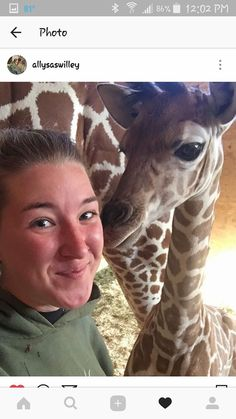 Happy Birthday Allysa, Zoologist with April and Baby G, 4-29-2017