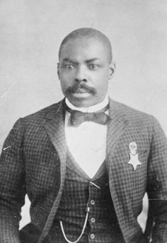 Image via Daniel Murray Collection/Library of Congress.    Meet Corporal Isaiah Mays.  Born into slavery in Virginia, Mays enlisted in the military as a free man and received a Medal of Honor for his actions in the Wham paymaster robbery of 1889.